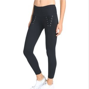 NWT🍁 Highwaist Front Lace-Up Leggings